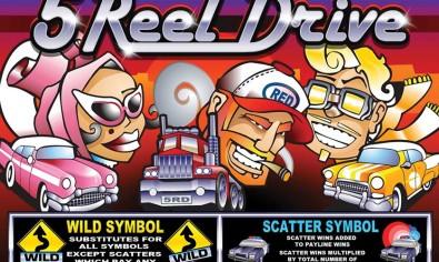 5 Reel Drive mcp