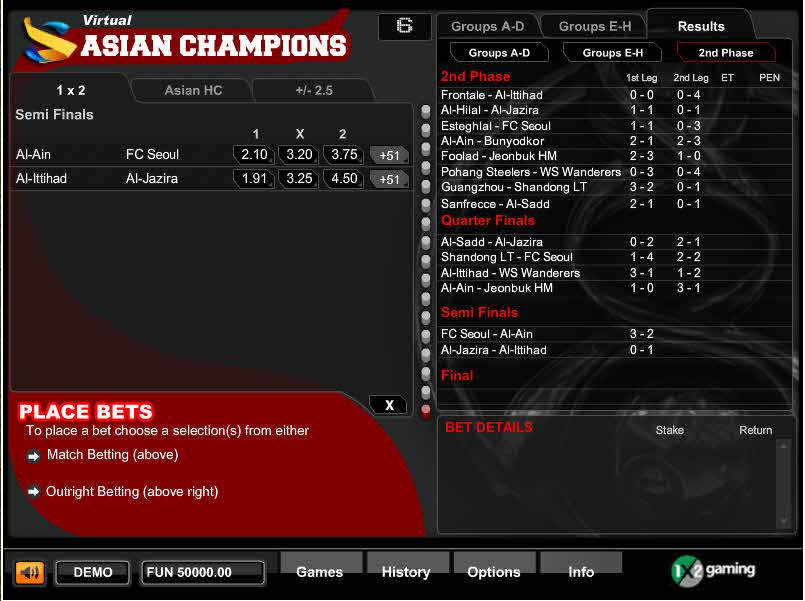 Virtual Asian Champions MCPcom 1x2Gaming