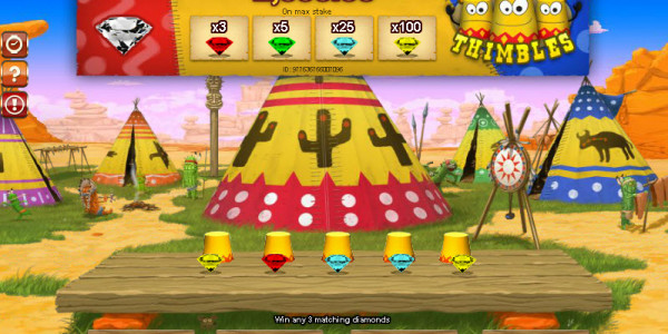 Freaky Thimbles MCPcom Gamesos2