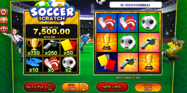 Soccer Scratch MCPcom Gamesos2