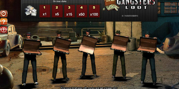 Gangsters' Loot MCPcom Gamesos2