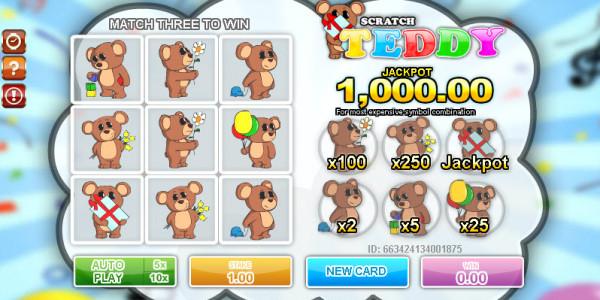 Teddy Scratch MCPcom Gamesos2
