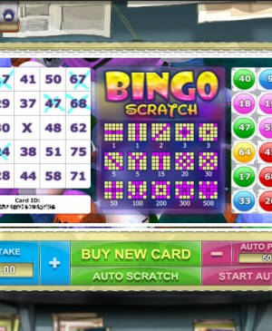 Bingo Scratch MCPcom Gamesos
