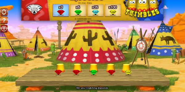 Freaky Thimbles MCPcom Gamesos3