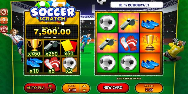Soccer Scratch MCPcom Gamesos3