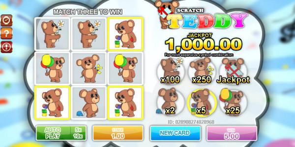 Teddy Scratch MCPcom Gamesos3