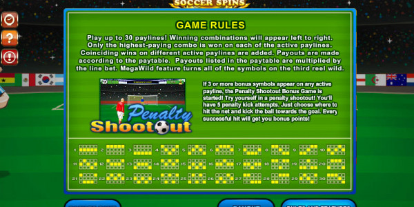 World-Cup Soccer Spins MCPcom Gamesos pay2