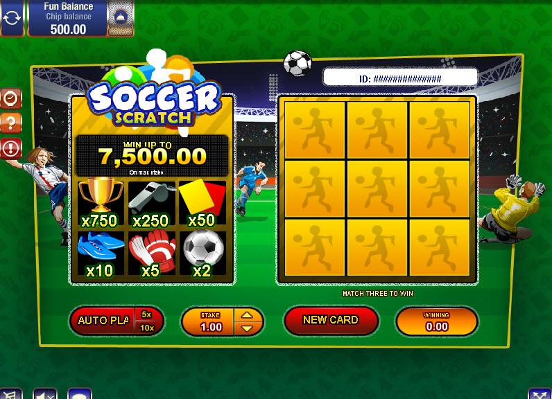 Soccer Scratch MCPcom Gamesos