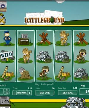 Battleground Spins MCPcom Gamesos