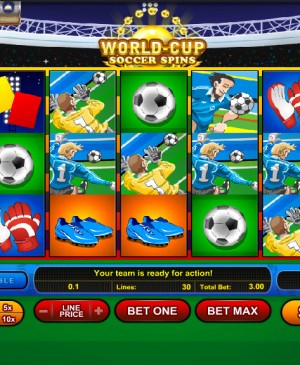 World-Cup Soccer Spins MCPcom Gamesos