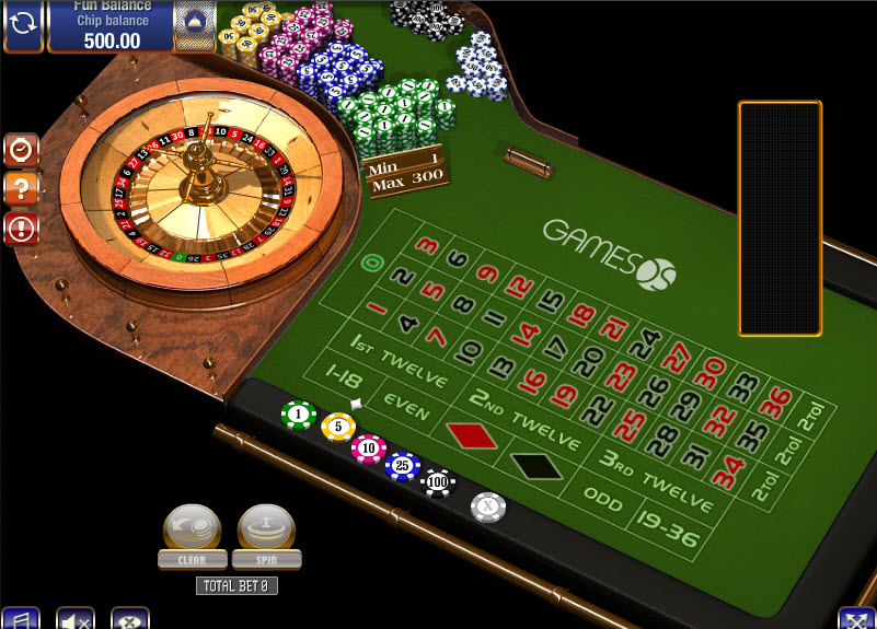 European Roulette MCPcom Gamesos