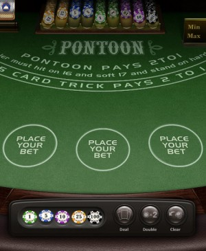 Pontoon Blackjack MCPcom Gamesos