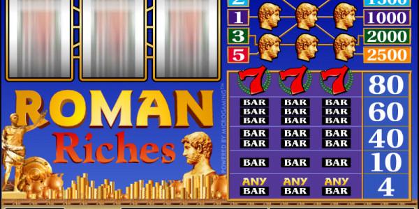 Roman Riches MCPcom Microgaming2