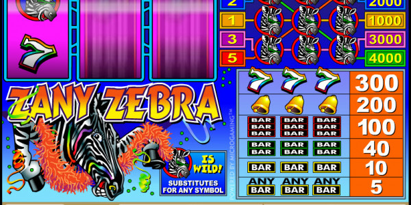 Zany Zebra MCPcom Microgaming2