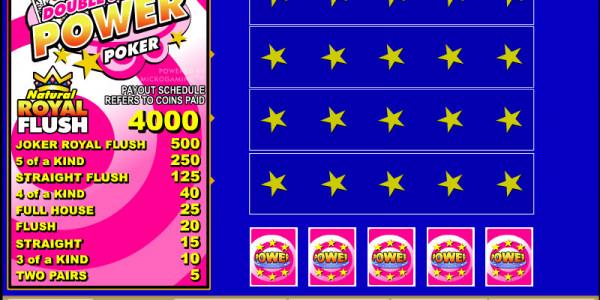 Double Joker 4 Play Power Poker MCPcom Microgaming2