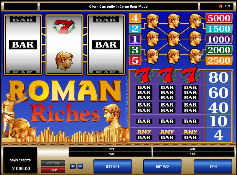 Roman Riches MCPcom Microgaming