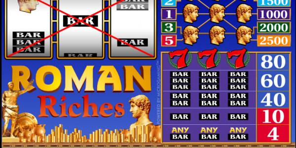 Roman Riches MCPcom Microgaming3