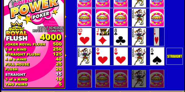 Double Joker 4 Play Power Poker MCPcom Microgaming3