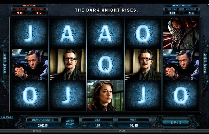 The Dark Knight Rises MCPcom Microgaming