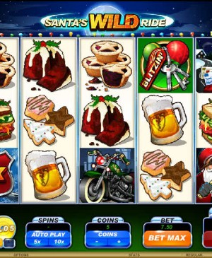 Santa's Wild Ride MCPcom Microgaming