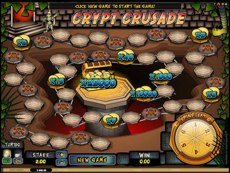 Crypt Crusade MCPcom Microgaming