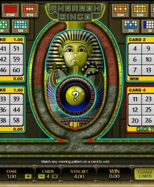 Pharaoh Bingo MCPcom Microgaming