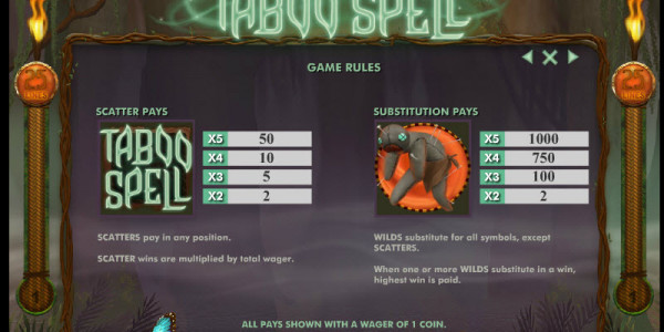 Taboo spell mcp pay