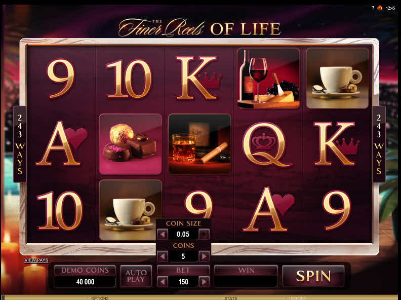 The Finer Reels of Life MCPcom Microgaming
