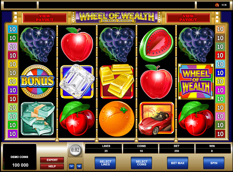 Wheel of Wealth Special Edition MCPcom Microgaming