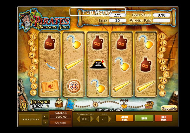 Pirates – Treasure Hunt MCPcom SkillOnNet
