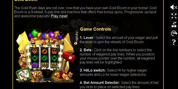 Gold Boom MCPcom Slotland pay