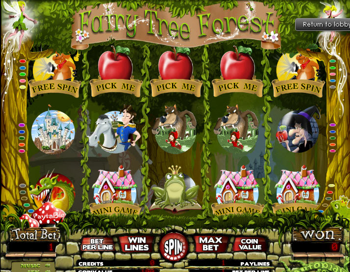 Fairy Tree Forest MCPcom TheArtofGames