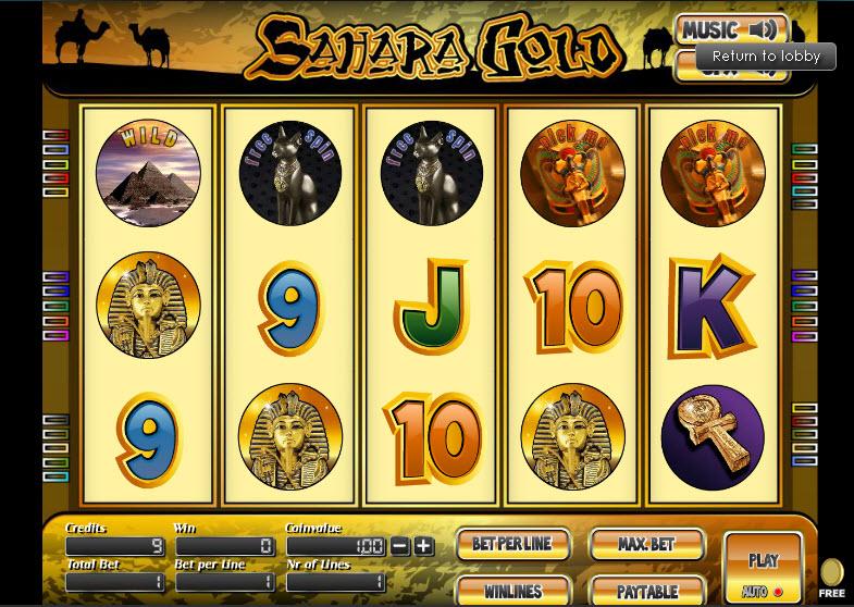 Sahara Gold MCPcom TheArtofGames