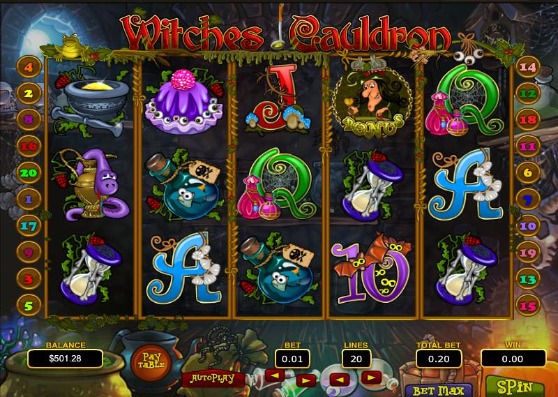 Witches Cauldron MCPcom Topgame