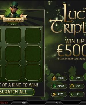 Lucky Triple mcp