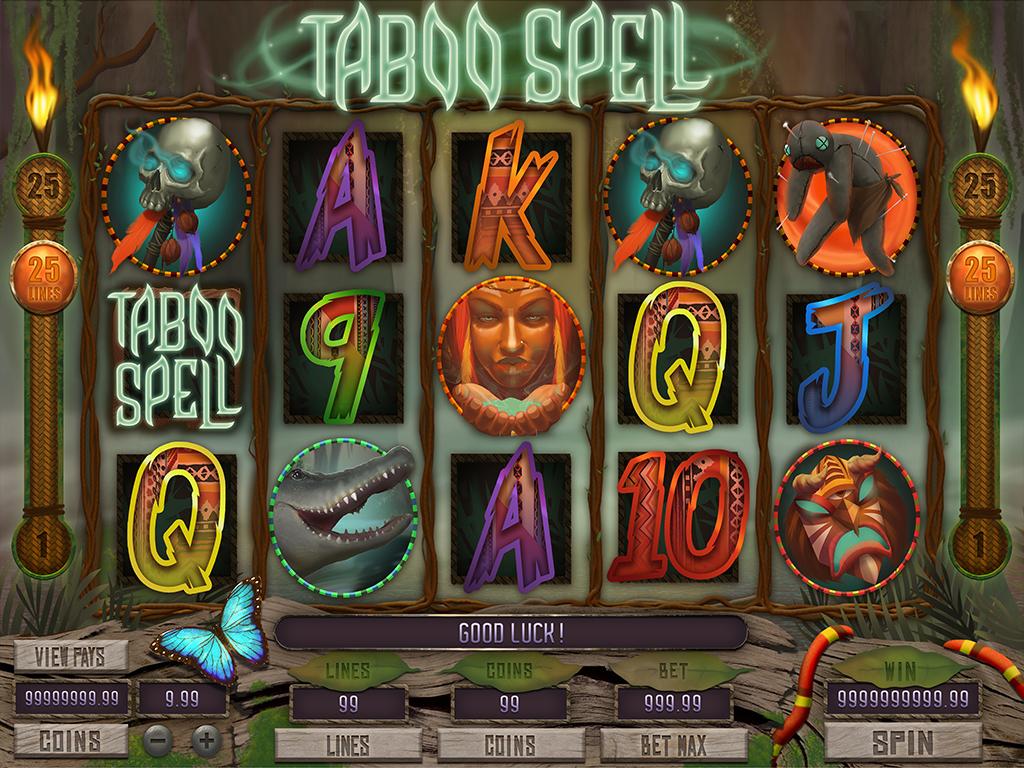 Taboo spell mcp