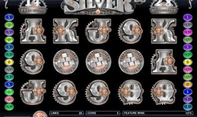 Sterling Silver 3D mcp fs