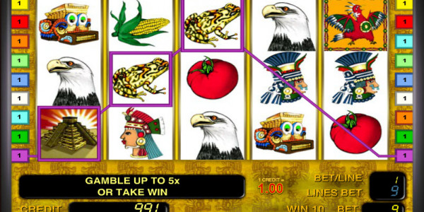 Aztec Treasure  MCPcom Novomatic win