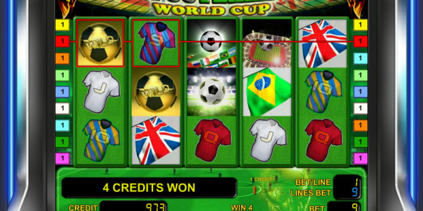 Footbal World Cup MCPcom Novomatic win