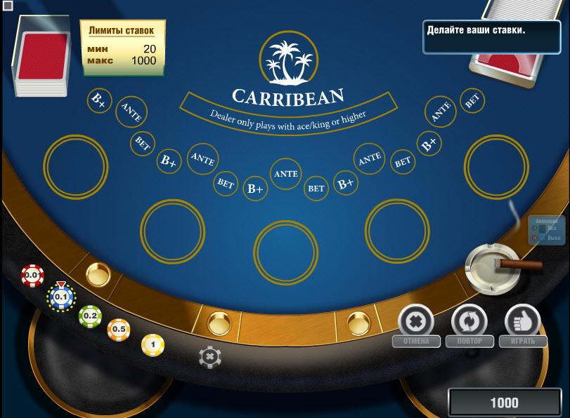 Caribbean Poker MCPcom Novomatic