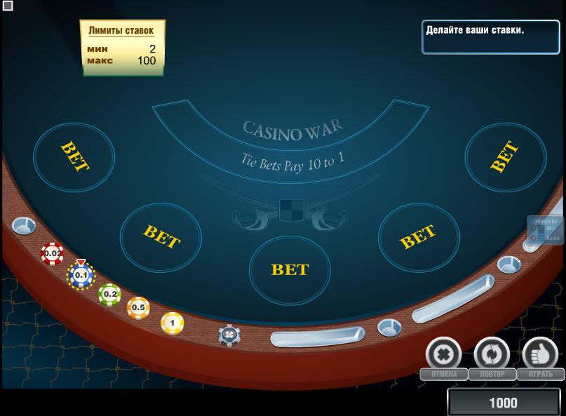 Casino War MCPcom Novomatic