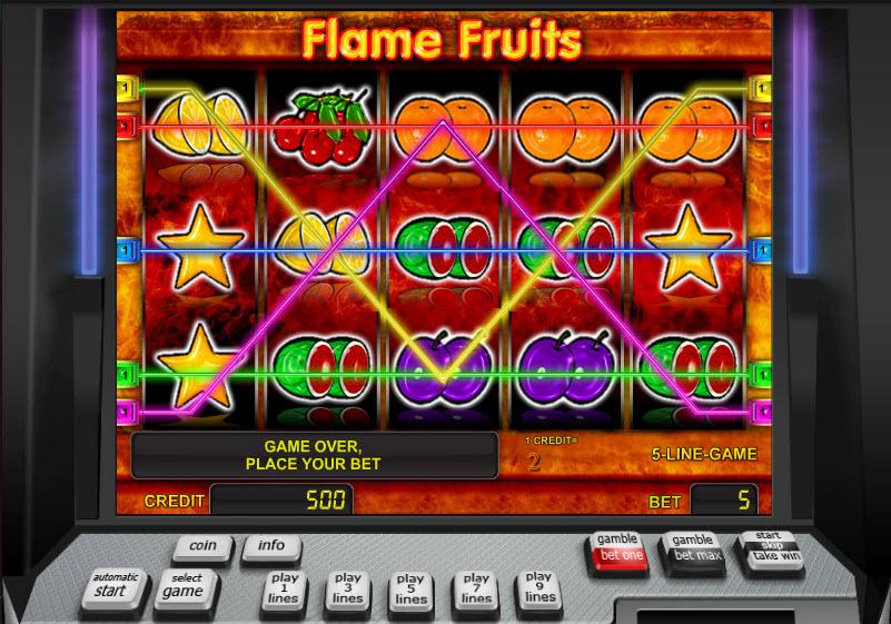 Flame Fruits MCPcom Novomatic