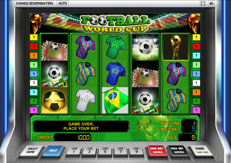 Footbal World Cup MCPcom Novomatic