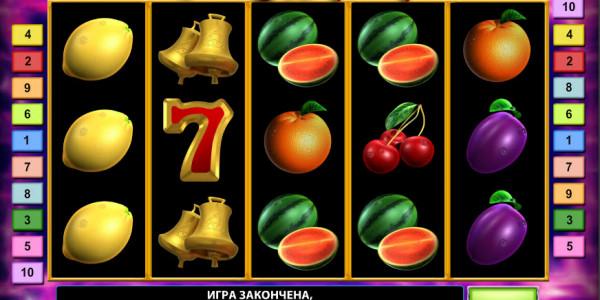 Fruit Sensation Deluxe MCPcom Novomatic