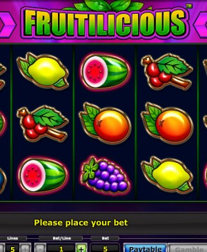 Fruitilicious MCPcom Novomatic