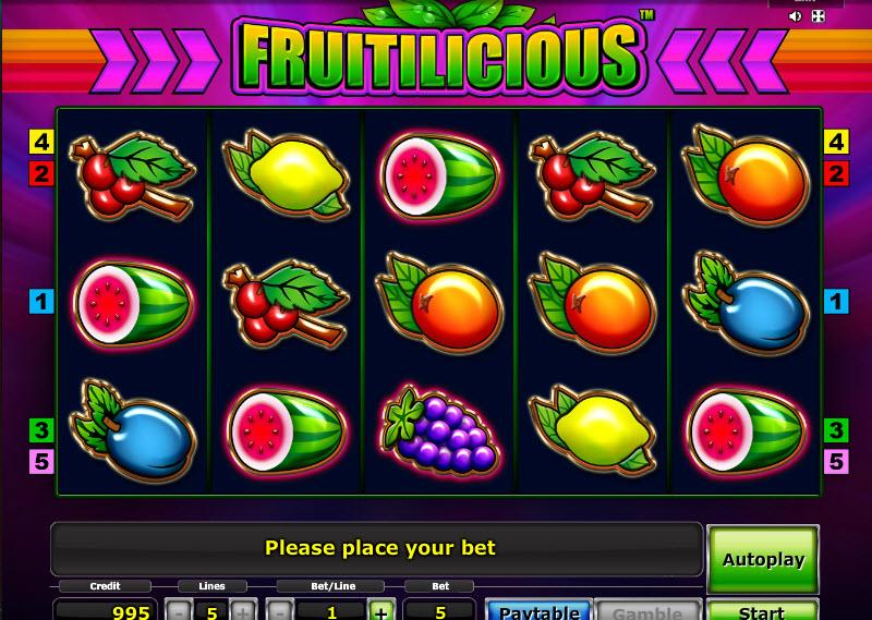 Fruitilicious MCPcom Novomatic