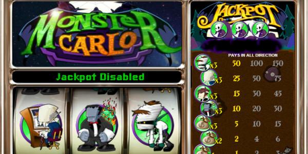 Monster Carlo MCPcom OpenBet