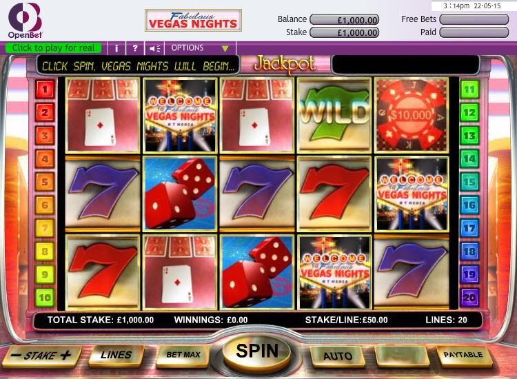 Vegas Nights - Engine 1 MCPcom OpenBet