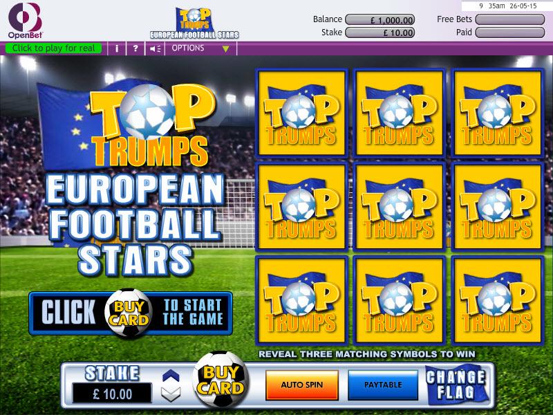 Top Trumps Euro Scratch MCPcom OpenBet