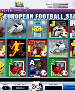 Top Trumps European Football Stars Slot MCPcom OpenBet
